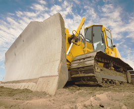 Auctioning Property in Prescott, AZ - Bulldozer